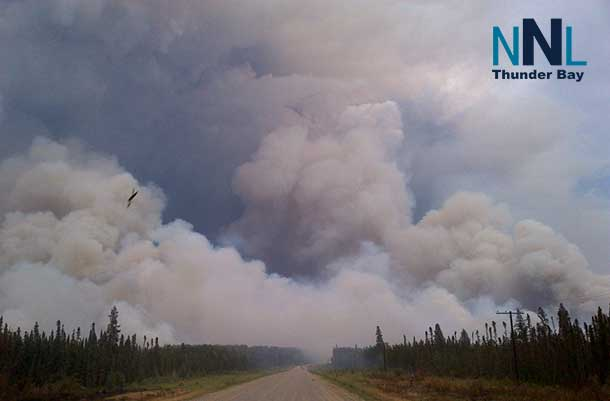 Montreal Lake Fire in Saskatchewan