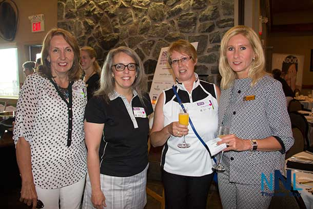 Irene Lozlowski, Laura Craig, Terri Macsemchuck and Kim Ulmer at RBC Womens Executive Day