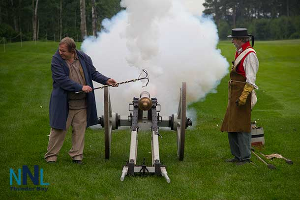 The Staal Foundation Open started with a loud Thunder Bay welcome with the cannon from Fort William Historical Park