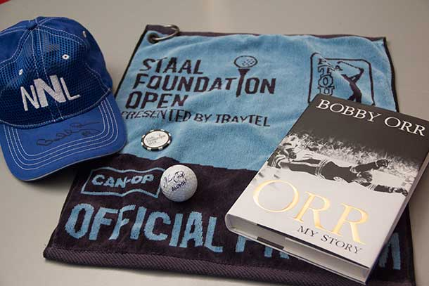 The Staal Foundation Open offers something for almost everyone... today there is a tight pack atop the leaderboard...