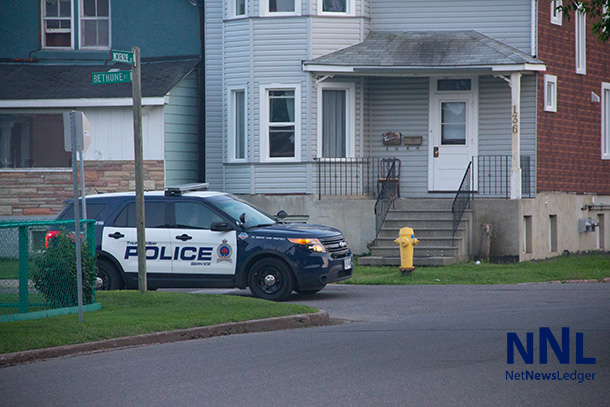 Thunder Bay Police appear to have ramped up their presence on Mackenzie Street
