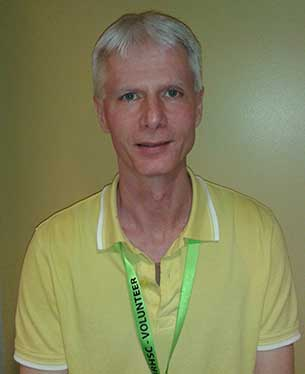 Tom Coulthard is one of the 800 volunteers at Thunder Bay Regional Health Sciences Centre making a difference for patients and families.