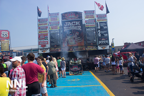Ribfest brought the best of causes together - food, beverages and good times all under a great summer sky