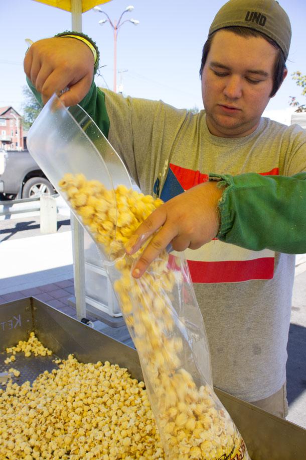Kettle Corn is a staple of the street fair.