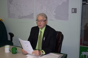 Bruce Hyer reveals details of the Oracle Poll that shows a tight three way race in Thunder Bay Superior North