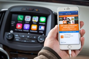 Through Apple CarPlay and OnStar AtYourService, Buick offers a smart, technological customer experience for book lovers. (Photo by John F. Martin for Buick)