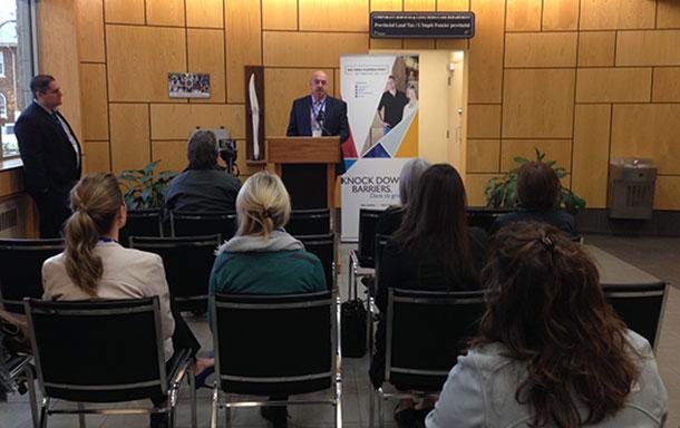 Thunder Bay Mayor Keith Hobbs proclaims BDB Small Business Week at City Hall