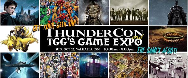 Thunder Con TGG Games Expo