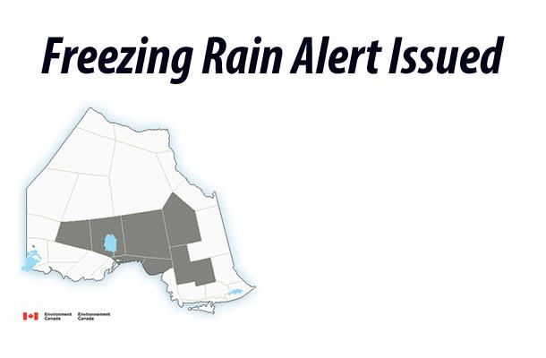 Freezing Rain Alert