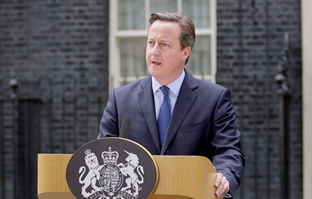 British Prime Minister Cameron - Paris Attacks are the Worst Kind of Violence