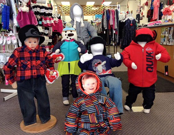 Kitty Cucumber Children's Boutique carries kid's clothing brands you will not find anywhere else in Thunder Bay, such as Roxy and Quiksilver