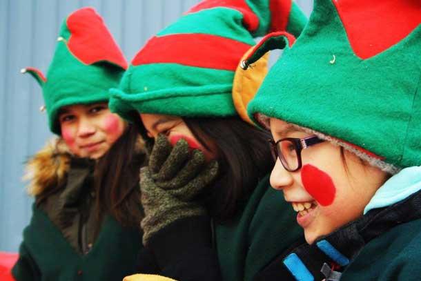 Children in Attawapiskat enjoyed the day and the fun