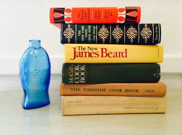 Julia Child, Craig Claiborne and James Beard were among Hazelton's recommended cookbook authors. Credit: Copyright 2015 Emily Contois