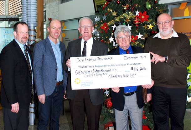 A major grant to the TBRHSF will help patient care