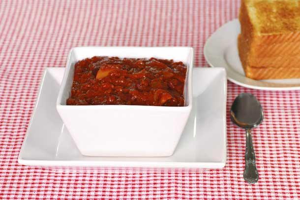Texas-style chili. Credit: iStock