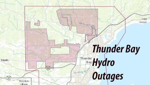 Thunder Bay Hydro Outage Map