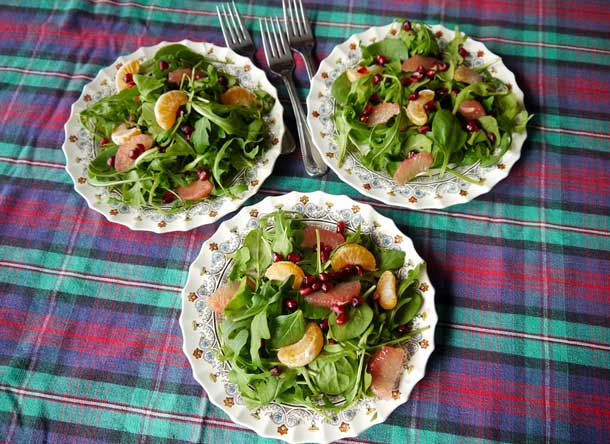 Citrus Salad With Fig Vinaigrette. Credit: Copyright 2015 Brooke Jackson