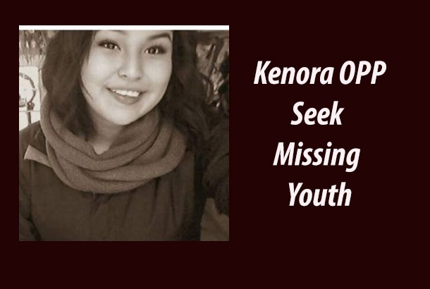 Kenora OPP are seeing a missing youth...
