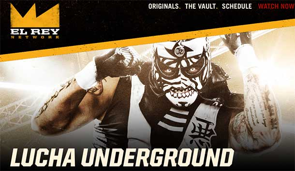 Lucha Underground features high flying action including Vampiro from Thunder Bay