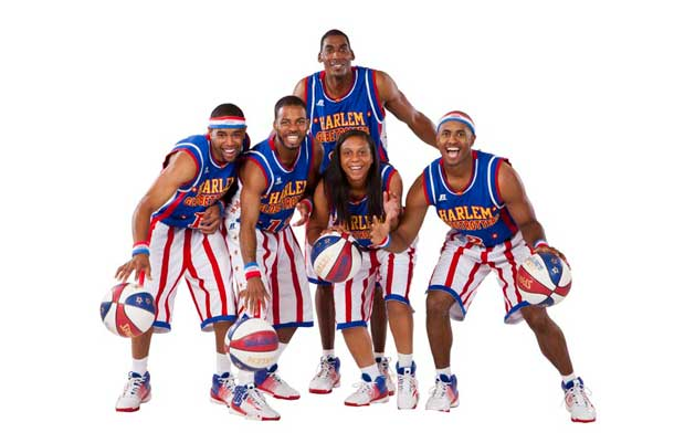 The Harlem Globetrotters are hoping to bounce bullying off the court