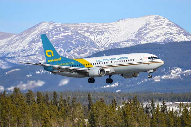NewLeaf joins the Canadian Aviation Market promising low fares