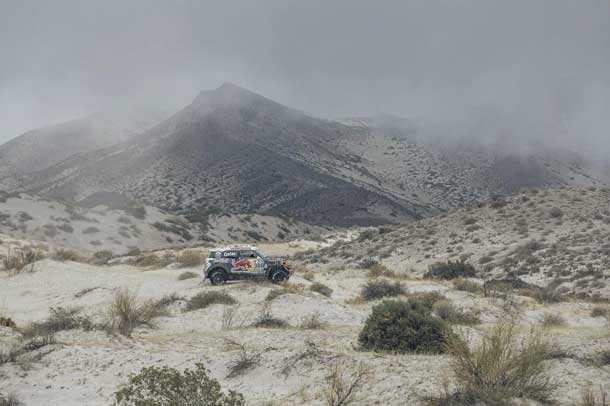 Action is heating up in the Dakar Rally