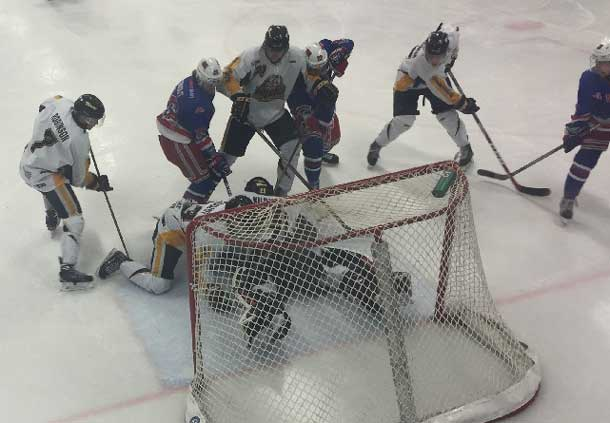 SIJHL Showcase - Minnesota Iron Rangers and Ear Falls Miners in Action