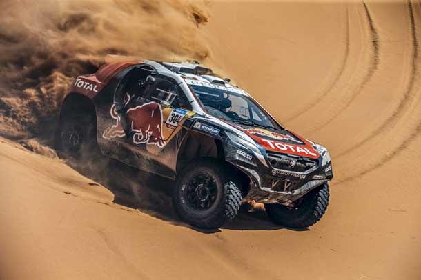 Sebastien Loeb is ready at the 2016 Dakar Rally