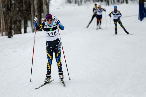 Alysson Marshall - Lakehead skier obliterated the competition