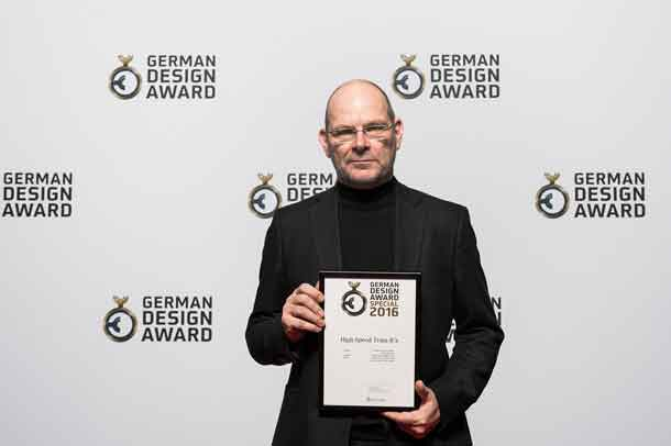 Bombardier has Received the German Design Award