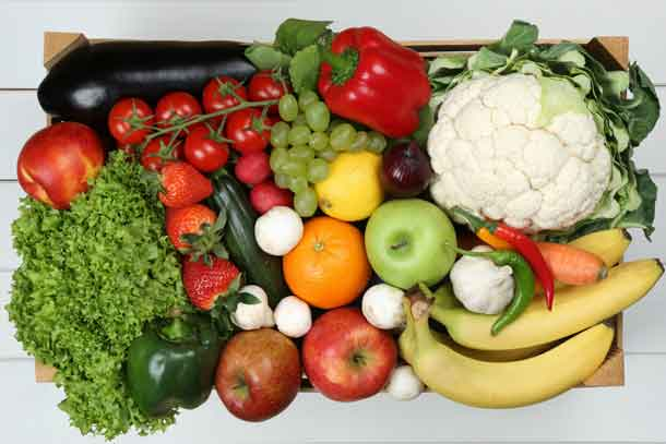 Forget trendy cleanses; eating healthy is the best way to promote health. Credit: Copyright Dreamstime.com