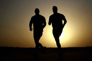 Don't just think about running to get fit; get up and go