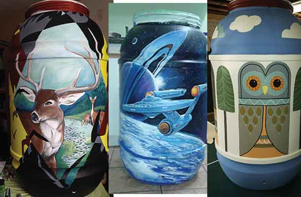 Eco Superior Rain Barrels - get your bids going online