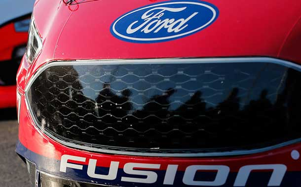 Ford Motor Company has been awarded by Nascar