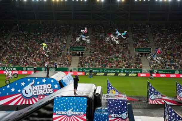 This August Port Arthur Stadium Will be the site of Nitro Circus