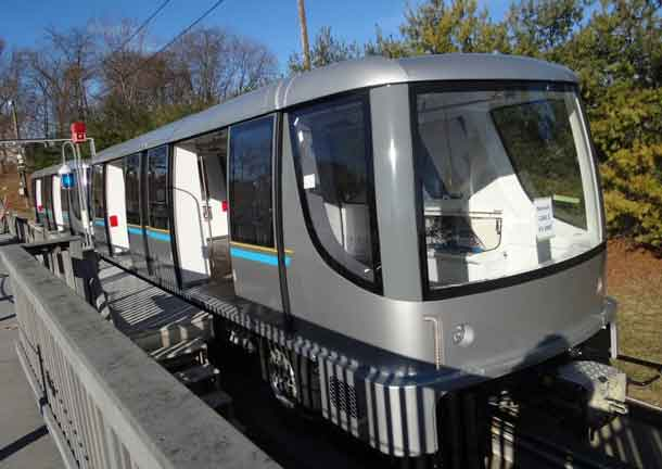 BOMBARDIER INNOVIA APM 300 automated people mover (APM) system has been inaugurated at the Munich Airport in Germany