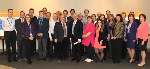 Northwest Supply Chain staff and Steering Committee members celebrate the collaboration's success, including cumulative savings of over $20 million