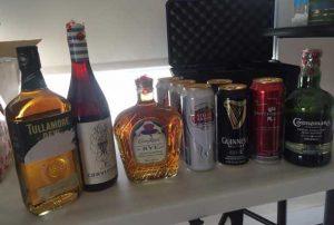 NAPS Image - Seized Alcohol