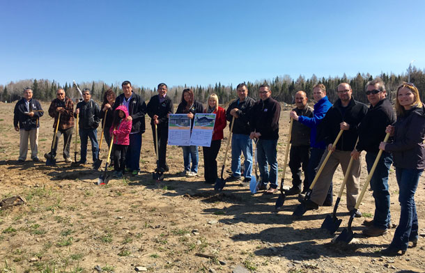 Ground-breaking for new housing on Fort William First Nation