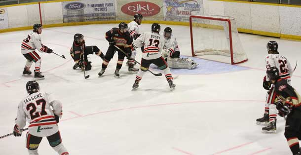 Soo Thunderbirds Top Fort Frances Lakers