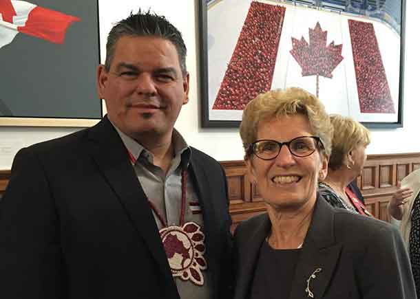 Premier Wynne and Ontario Regional Chief Day