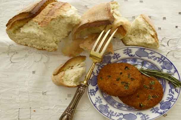 Repurpose old bread into polpette, made with Italian bologna. Credit: Copyright 2016 Cesare Zucca