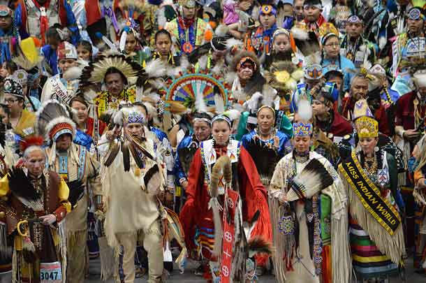 Photo - Gathering of Nations Pow Wow