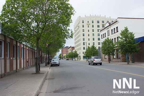 May Street in Thunder Bay's Fort William downtown