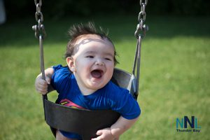 Sometimes a smile just comes from the swinging good time you have - Here Nation shares the joy of summer