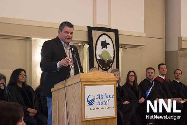 Ontario Regional Chief Isadore Day (Wiindawtegowinini)