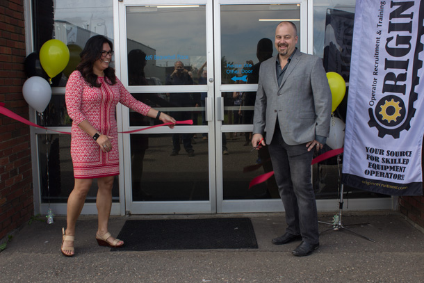 Celebration at Origin as the company opens its new training facility in Thunder Bay