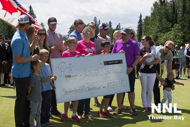 An impressive $250k was raised for local Staal Foundation Charities, the Thunder Bay Regional Health Sciences Foundation, Camp Quality and the Northern Children's Cancer Fund