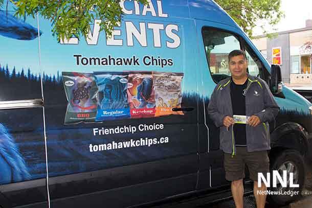 Albert Lea of Tomahawk Chips