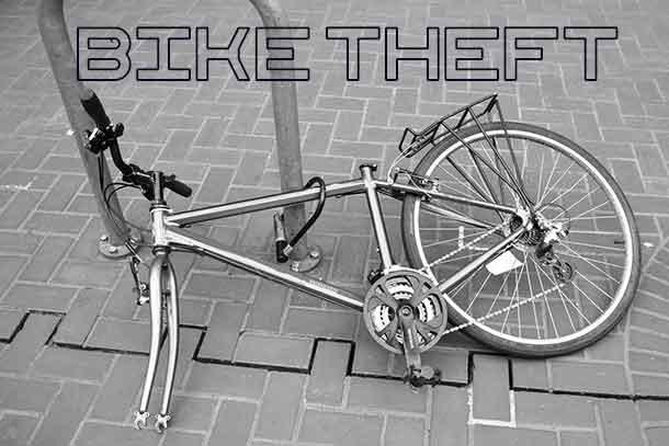 Simply locking your bike might not stop thieves.